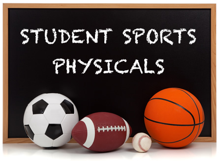 image College sport physicals and college guys