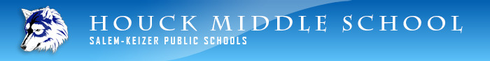 Houck Middle School Logo