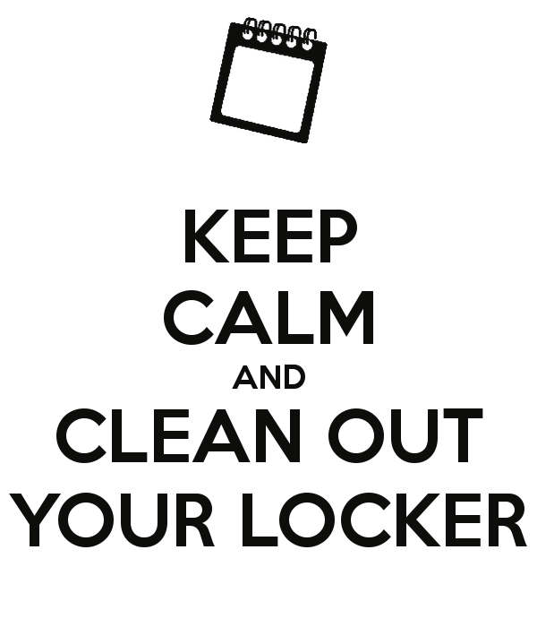 Image result for school locker clean out