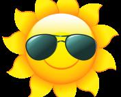 Sun Image Wearing Sunglasses